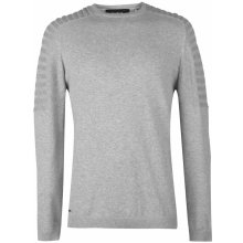 Firetrap Raglan Sleeve Knitted Jumper Mens