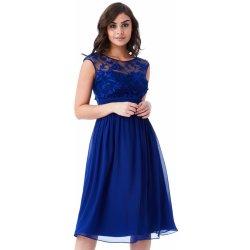 5e96f990554b CityGoddess společenské šaty Divine krátké královsky modrá ...
