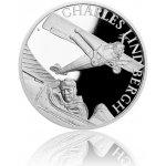 Česká mincovna Stříbrná mince Století létání Charles Lindbergh proof 31,1 g