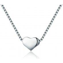 c5d3b89f3 Royal Fashion náhrdelník Hladké srdce VSN031
