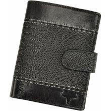 28bc141613 Wild Buffalo Pánská kožená peněženka N890L VTC RFID černá