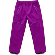 Wolf dětské softshellové kalhoty fialové