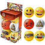Emoji Smile Big vtipné golfové míčky