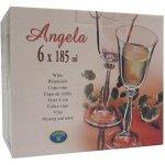 Crystalex Sklenice na víno ANGELA 185ml 6ks