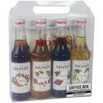 Monin Coffee box 4 x 0,25 l