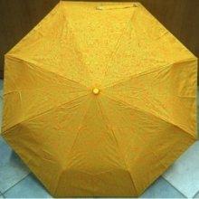 Skládací dívčí deštník Blue Drop A858DC oranžový s obrázky