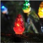 Svítidla Exihand Vánoční vnitřní klasická souprava 162116 ŠIŠKA limba barevná 12 žárovek 12V/0,1A Exihand