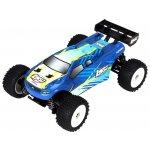 Losi Truggy RC auto Micro- 4WD RTR modrá 1:24