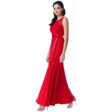 db90479c0e6 CityGoddess společenské šaty Infinity červená