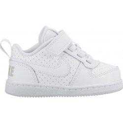 9cf75a4699d Dětská bota Nike Court Borough Grl63 White Pink
