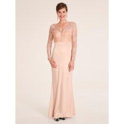 cde9c6919be6 Ashley Brooke by heine večerní šaty ze saténu a krajky růžová ...
