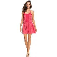 Roxy dámské šaty White Beaches ERJKD03167-MLJ0 rouge red 4820496b6d