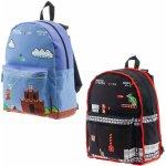 Bioworld Europe batoh Klasický Mario černý/modrý