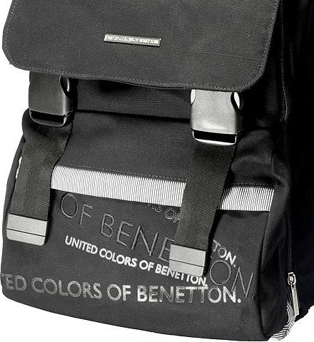 Benetton batoh na přezky černá od 1 217 Kč - Heureka.cz f0fc712122