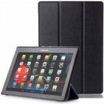 SES 2v1 Smart cover + zadní kryt pro tablet Lenovo TAB 2 A10-70 - černý