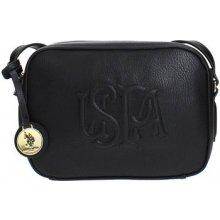 U.S. Polo Assn. BEUHR0120WV crossbody Bag Women BLACK černá