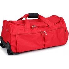 David Jones 888-1 taška na kolečkách 30x30x65 cm Červená
