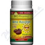 Bio-Pharma Beta Karoten 10 000 I.U. 30 kapslí