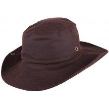 e2fbafff493 Pánský hnědý nepromokavý klobouk Assante 81042