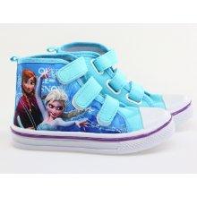 Setino dívčí kotníčková obuv Frozen modré