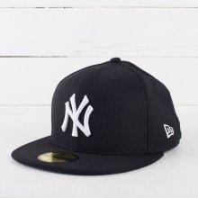 New Era 59F League Basic MLB New York Yankees Purple/White kšiltovka
