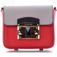 kabelka SAFFIANO Cromia červená