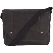Bruno Banani kožená taška 320/2009 černá