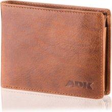 Pánská peněženka Tripolis, hnědá DK-087