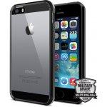 Pouzdro Spigen Ultra Hybrid iPhone SE / 5s / 5 černé