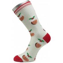 Pondy dámské vánoční ponožky pruhy typ 3