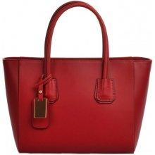 Pelletteria Giada kožená kabelka 21372 červená