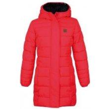 Loap Ulrika dětský kabát růžový