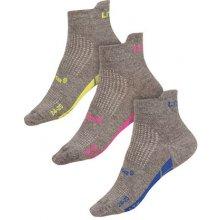 Litex Sportovní ponožky CoolMax 99657 reflexní zelená