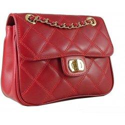 malá kožená kabelka Carmen červená alternativy - Heureka.cz 700f234c246