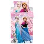 Jerry Fabrics Povlečení Frozen Pink 2016 bavlna 140x200 70x90