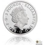 Česká mincovna Stříbrná mince 1 Oz Britannia UK 2017 proof 31,21 g