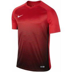 Nike Precision IV krátký rukáv 6 ks červená černá UK Junior ... c9d0194d517