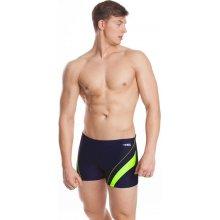 Aqua-Speed Dennis pánské plavky s nohavičkou modré-zelené