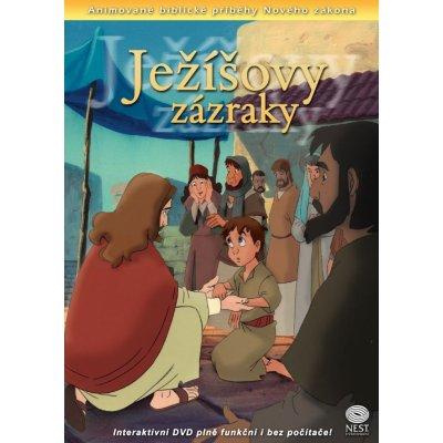 Ježíšovy zázraky - interaktivní DVD NZ08