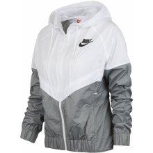 Nike Windrunner bílá / melange šedá