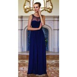 10e6e01d0fc Filtrování nabídek Eva   Lola společenské šaty Dana tmavě modrá ...