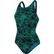 Speedo Boom Allover Muscleback černá Fake Green Windsor modrá 7ee162712f