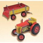Kovap Traktor Zetor a valník červený