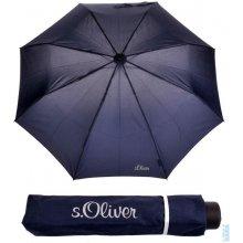 Deštník skládací s.Oliver Fruit-Cocktail 70801SO300 tmavě modrý, S´oliver