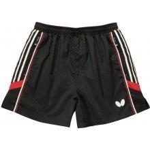 Butterfly šortky Nash černé/červené