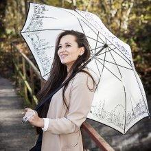 Rusqué RSQ1912 Skyline luxusní dámský holový deštník
