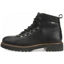 Geox pánská kotníčková obuv Kieven B Abx černá