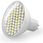 Whitenergy Led žárovka GU5.3 60 SMD 3528 3W 230V Studená bílá refl. 04964