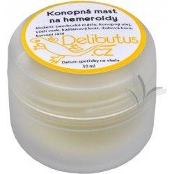 Hemoroidy Delibutus Konopná mast na hemeroidy 30 ml