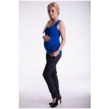 1118cca82c9e Be MaaMaa těhotenské kojící tilko s odnimatelnými ramínky tm. modré